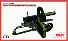 WW II SOVIET MACHINE GUN MAXIM 1910/30 1/35 ICM BRAND NEW