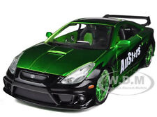 TOYOTA CELICA GT-S GREEN 1/24 CUSTOM DIECAST CAR MODEL BY MAISTO 32096