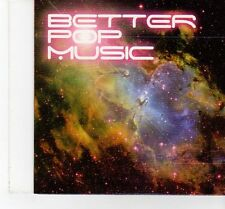 (FT440) Better Pop Music, SIC Sampler, 19 tracks various artists - DJ CD