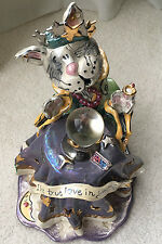 Blue Sky Clayworks- By Heather Goldminc- Cat Fortune Teller
