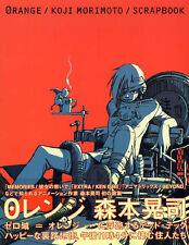 KOJI MORIMOTO Scrapbook ORANGE Illustration Art AKIRA Book