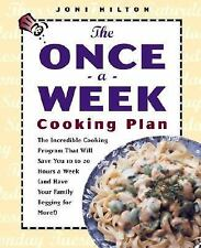 The Once-a-Week Cooking Plan: The Incredible Cooking Program That Will-ExLibrary