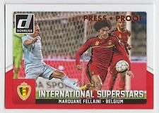 MAROUANE FELLAINI 2015 Donruss Soccer International Superstars Bronze Proof /299