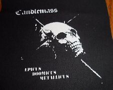 Candlemass Patch Doom Metal Solitude Aeturnus Saint Vitus Cathedral Krux Trouble