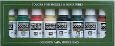 SAVE! Pick Your Own 8 Paint Vallejo Set (Bundle) (any 17ml color in stock)