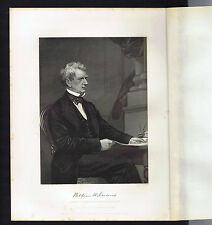 William H. Seward Former Governor of New York - 1873 Steel Engraving