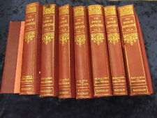 1-8 WAVERLEY THE BOOK OF KNOWLEDGE ** UK FREEPOST ** HARDBACKS IN RED