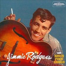 Jimmie Rodgers/Jimmie Rodgers Sings Folk Songs * by Jimmie F. Rodgers (Folk)...