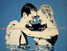 Banksy Casual Sex 1 A4 10x8 Photo Print Poster