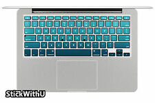 Macbook Air Pro Vinyl Skin Sticker Decal  keyboard- ocean texture nature KP047