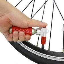 Pocket CO2 Bicycle Bike Cartridge Tire Pump Mini Cycling Tyre Inflator Red