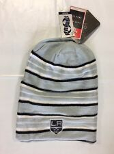 Los Angeles Kings Knit Beanie Toque Winter Hat Skull Cap New Reversible Long