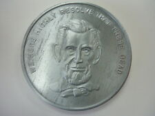 """Abraham Lincoln Gettysburg Address """"WE HIGHLY RESOLVE THAT THESE DEAD"""".... Coin"""