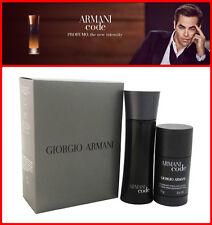 Armani Code Cologne for Men By Giorgio Armani 2 PC TRAVEL SIZE BRAND NEW IN BOX