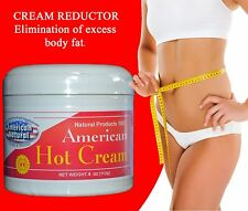 HOT CREAM CREMA REDUCTORA 4oz BODY American LIPO-GEL REDUCTOR burner GRASA fat