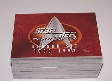 Star Trek The Next Generation Season Six 1992-93 Skybox Trading Cards Sealed