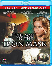 The Man in the Iron Mask (Blu-ray/DVD, 2013, 2-Disc Set)