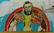 Vintage original 1983 The A Team Mr T  Pillowcase Unused Deadstock