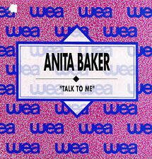 ANITA BAKER-TALK TO ME SINGLE VINILO 1990 PROMOCIONAL SPAIN REGULAR COVER-