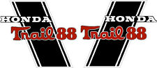 "CT70H Trail CT70HKO 88cc frame decals, graphics, Stickers.    CUSTOM ""TRAIL 88"""