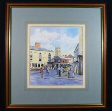Watercolour By Owen Traynor, 'Pitt and Nelson' Pub, Ashton, Lancashire
