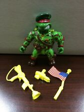 Teenage Mutant Ninja Turtles Green Beret Raph Near Complete TMNT Loose