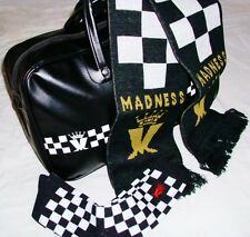 MADNESS - BOWLING BAG + SCARF + SOCKS - GIFT SET - OFFICIAL ITEMS - SUGGS 2 TONE