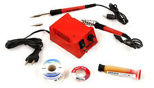 New Maxx Pamma Micro Soldering Iron Kit Adjustable Temperature Station (7 in 1)