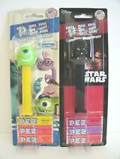 PEZ CANDY DISPENSERS (2) MOC MIKE WASKOWSKI, DARTH VADER