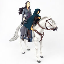 Lord of the Rings FOTR Deluxe Rider Set ARWEN AND ASFALOTH Figures Toy Biz 2004