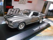 FORD Shelby Mustang GT 500 E 1967 V8 ELEANOR TV kino Movie Nur 60 Sekunden 1:43