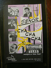 Partition Senor Cha Cha Cha Mambo Gitan Paul Piot
