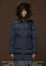 Down Coat Jacket Parka w/ Raccoon Fur Trim sz US 16 / EU 48 * $995 Пуховик Енот