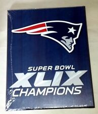 Super Bowl XLIX Champions New England Patriots Wooden Sign by Wincraft - NEW!