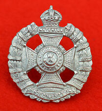British Army. Rifle Brigade Genuine Field Service Cap Badge