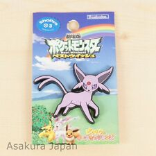Pokemon Best Wishes crocs charms Espeon Rubber pin From Japan