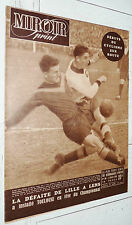 MIROIR SPRINT N°196 1950 FOOTBALL TOULOUSE LENS-LILLE RUGBY BOXE FRAMECHON