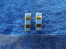 (A29-013) US Rangabzeichen Metall Air Force  Fachoffizier gold klein alte Art