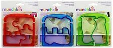 Munchkin Silly Sandwich Cutter Set, 3 count