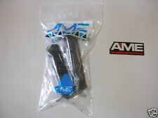 OLD SCHOOL BMX AME Tri Grips Black Bike Bicycle Grips WITH STICKER