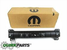 05-07 JEEP GRAND CHEROKEE 06-07 COMMANDER CENTER DASH SWITCH PANEL OEM NEW MOPAR