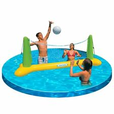 Outdoor Sport Water Floating Volleyball Game Net Swimming Pool Toy Kids Fun Play