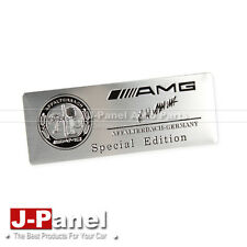 AMG METAL CHROME EMBLEM BADGE FIT FOR ALL MERCEDES BENZ CAR USE AMG LOGO