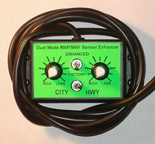 DUAL MODE MAP MAF SENSOR ENHANCER FOR HHO with WIRE 6.25 FT or 1.9 M CABLE