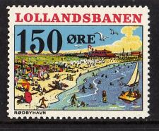 LOLLANDSBANEN DENMARK LOCAL RAILWAY STAMP,RAILWAYS,LOLLANDS BANEN,NHM