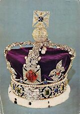 B101734 imperial state crown made for george VI london postcard art   uk