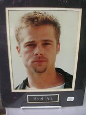 """Brad Pitt  8"""" x 10""""  Photo - Overall size of this item:: 14"""" x 11"""""""