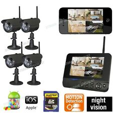 Wireless Home Security Camera Systems for Home WIFI Nanny Backup Web Cam DVR