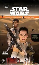 TOPPS STAR WARS THE FORCE AWAKENS SERIES 2 HOBBY BOX BLOWOUT CARDS
