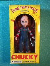 Living Dead Dolls Presents CHUCKY - SEALED - Child's Play - Good Guy - Tiffany